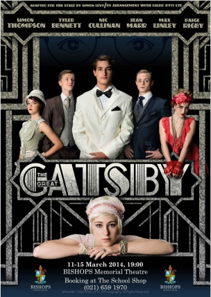 Bishops Diocesan College Play Poster Great Gatsby