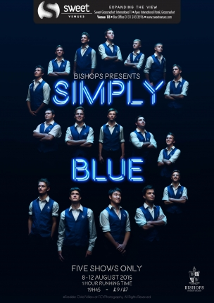 Bishops Diocesan College Simply Blue Poster