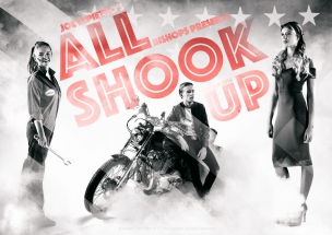 Bishops Diocesan College Play Poster All Shook Up